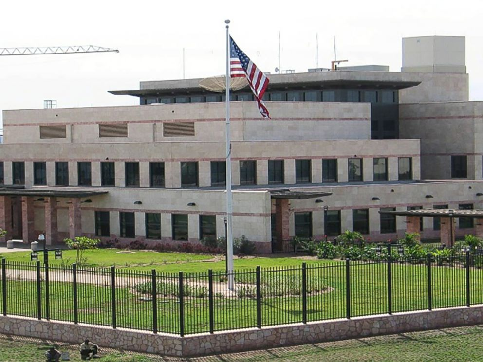 PHOTO: The U.S. Embassy Bamako, Mali is seen in an undated photo posted to the State Department website.