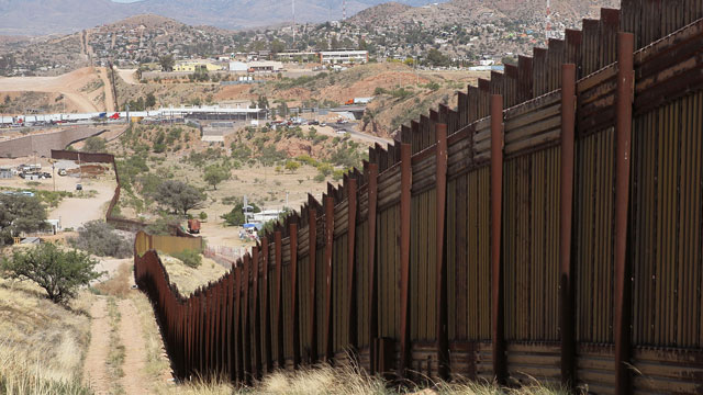 Image result for pics arizona mexico border wall