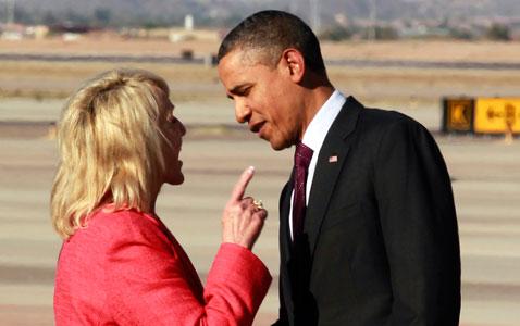 brewer points finger at obama