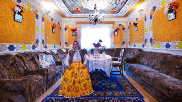 Gypsy Palace Romania Interior