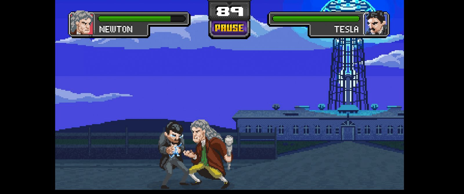 PHOTO: Science Kombat is a web based game that pits some of historys greatest minds against each other.
