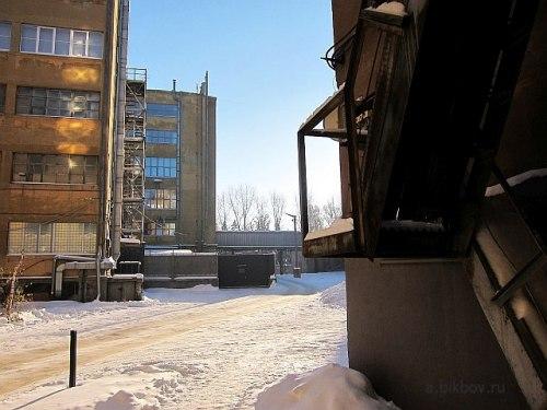 Екатеринбург: территория НИИ Уралмаш