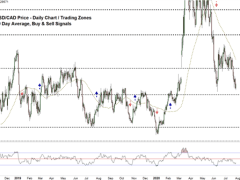 USD/CAD Price Faces a Key Support Level