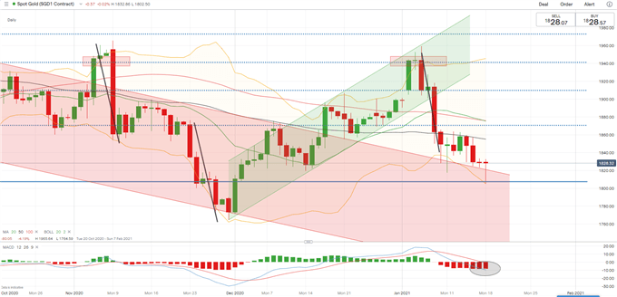 Gold Price Outlook: XAU/USD Rebounds from a 6-Week Low. Now What?
