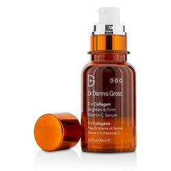 """ד""""ר דניס גרוס C + Collagen Brighten & Firm Vitamin C Serum  30ml/1oz"""