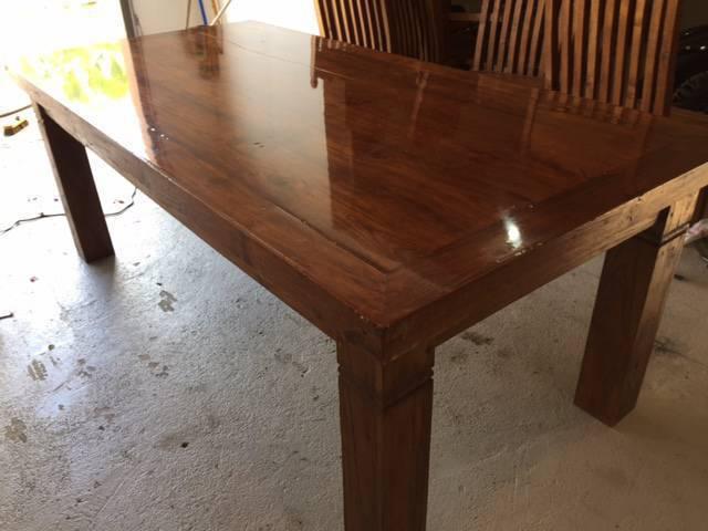bois exotique massif meubles