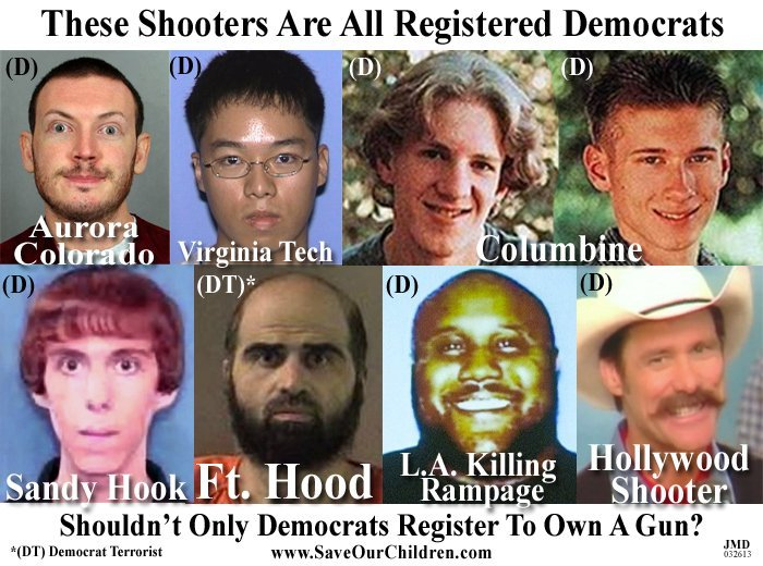 What do these registered Democrats all have in common?