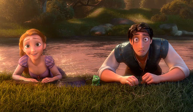 The-Many-Faces-of-Flynn-Rider---The-Magic-Glowing-Hair-Pt.-1