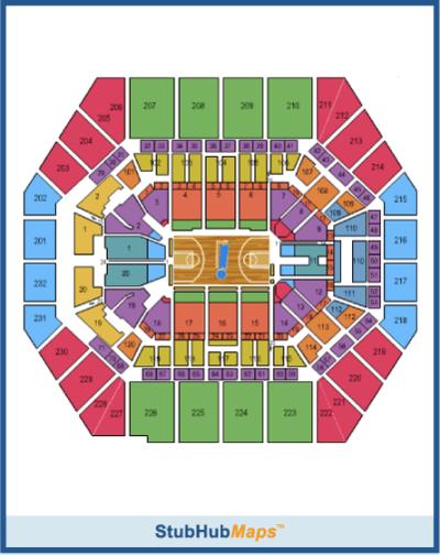 Bankers Life Arena Seating Chart