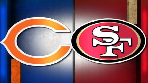 Image result for 49ers vs. Bears