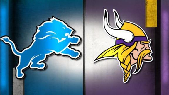 Image result for Lions vs. Vikings