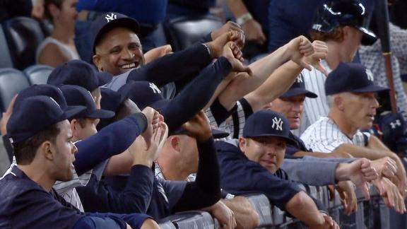 Image result for yankees players thumbs down
