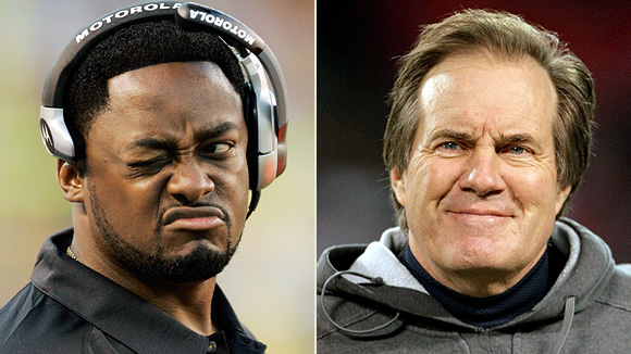 Getty Images, US Presswire Steelers coach Mike Tomlin (left) has a 2008