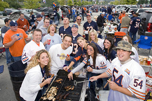 Bears Fans Tailgating