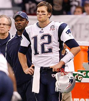 Tom Brady sideline demeanor
