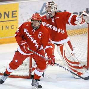 Wisconsin Badgers Are The Surprise Of WCHA At Midway Point