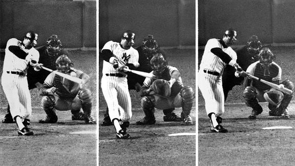 Image result for Reggie Jackson three home runs