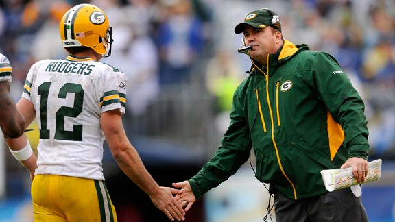 Image result for Mike McCarthy and Aaron Rodgers