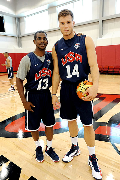 Blake Griffin Basketball Olympic 2012