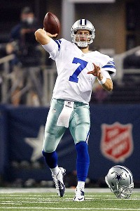Tim Heitman/US Presswire - Dallas Cowboys QB Stephen McGee completes for backup roster spot - The Boys Are Back blog