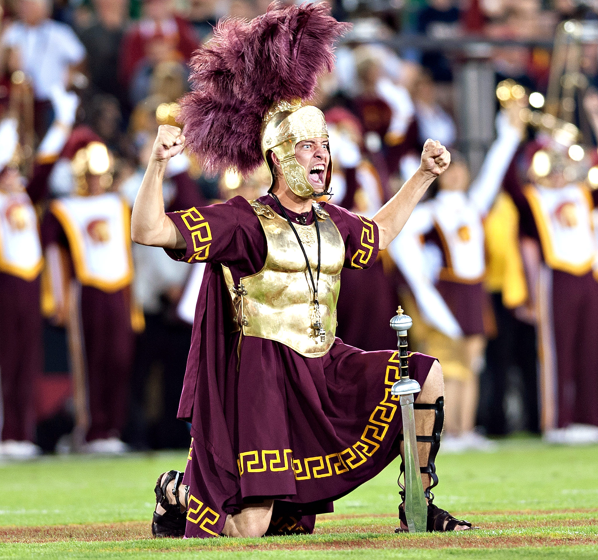 Planting The Sword USC Vs Notre Dame ESPN