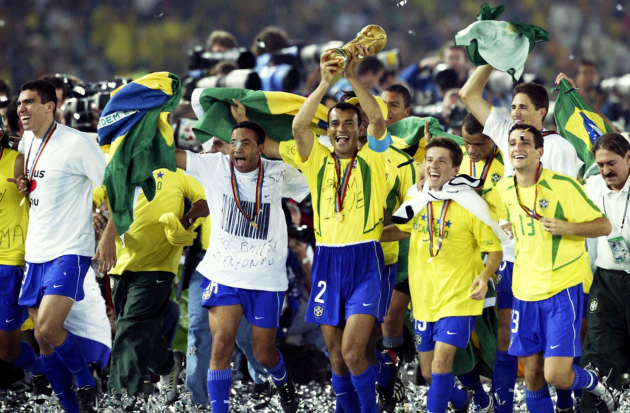 Image result for 2002 world cup brazil champion