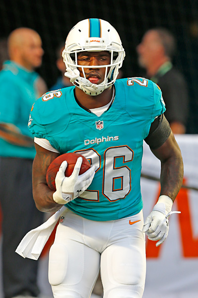 Lamar Miller listed as Miami Dolphins' starting running ...