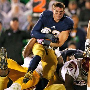 Cam McDaniel rocks Notre Dame