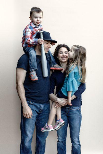 Ian Kinsler and Family