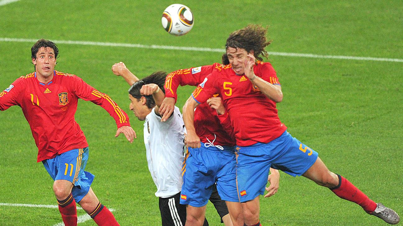 Image result for puyol goal vs germany