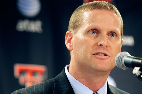 Big 12 fines Texas Tech AD for officiating talk