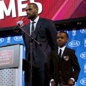 LeBron James, LeBron James Jr.