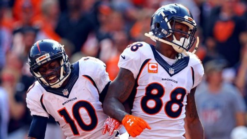 Image result for demaryius thomas emmanuel sanders