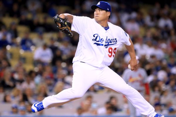 Image result for hyun-jin ryu