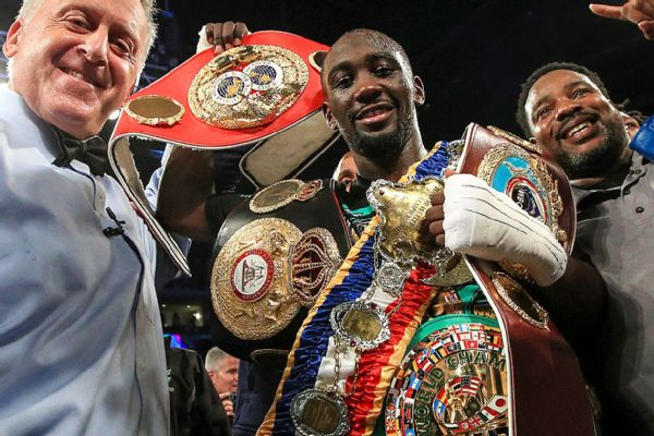 Image result for Terence Crawford stups horn