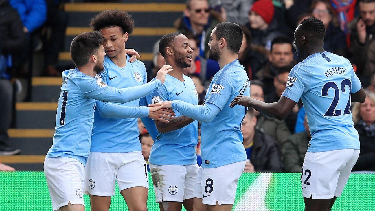 Crystal Palace vs. Manchester City - Football Match Report - April 14, 2019 - ESPN