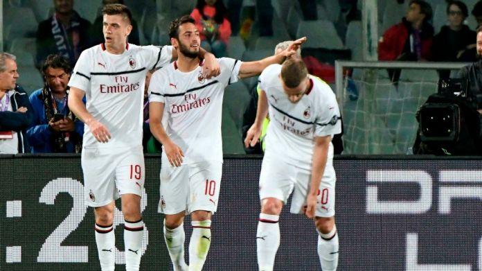 Fiorentina vs  AC Milan - Football Match Report - May 11