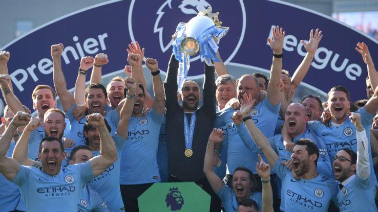Man City boss Guardiola says Premier League title