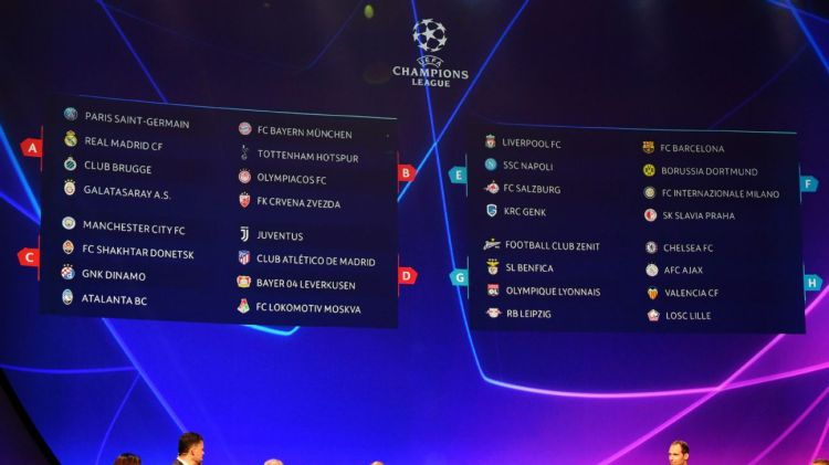 UEFA Champions League: Full group-stage fixture schedule ...