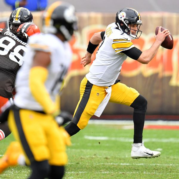 Rudolph: Goal to be starting QB for Steelers