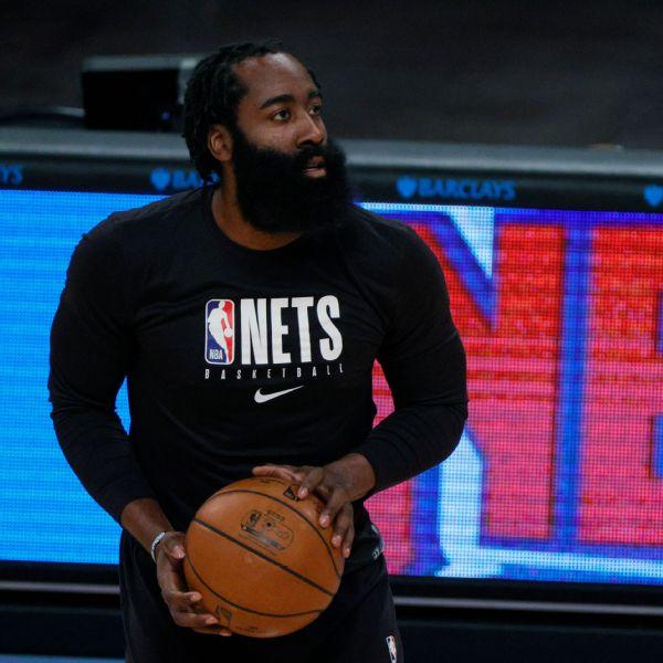 Harden (hamstring) available to play vs. Knicks