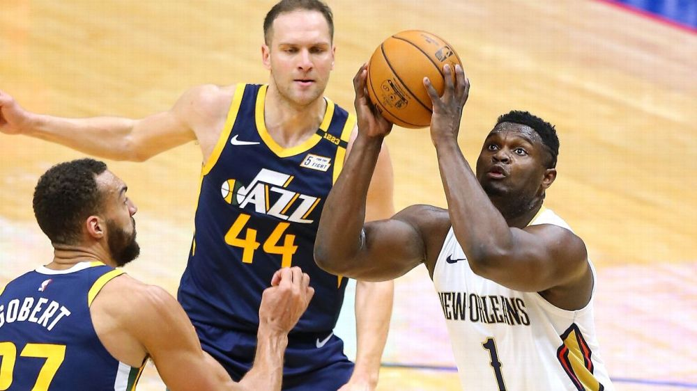 Zion Williamson, New Orleans Pelicans don't back down from Utah Jazz