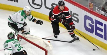 Sources: Knights get Janmark from Blackhawks