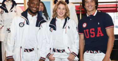 Team USA unis unveiled for Olympic ceremony
