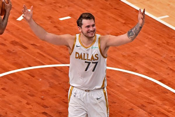 Luka Legend: Mavs win on Doncic's 'lucky' shot