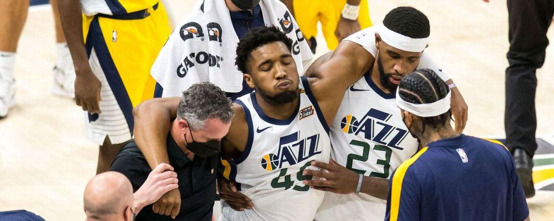 Sources: X-rays negative on Jazz star Mitchell