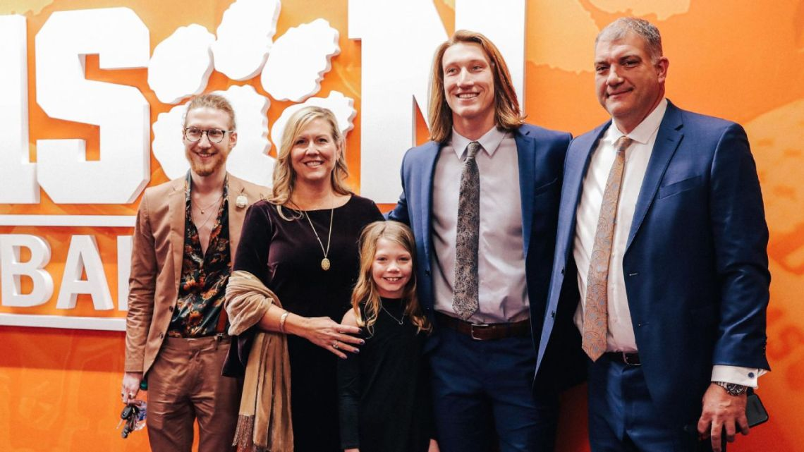 The magical connection between Trevor Lawrence and his brother, Chase