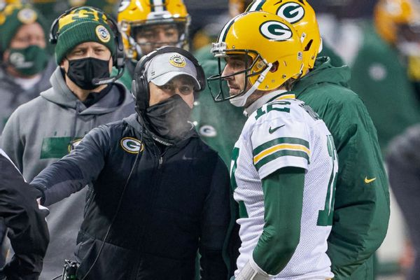 LaFleur: 'Can't fathom' Rodgers not in Green Bay