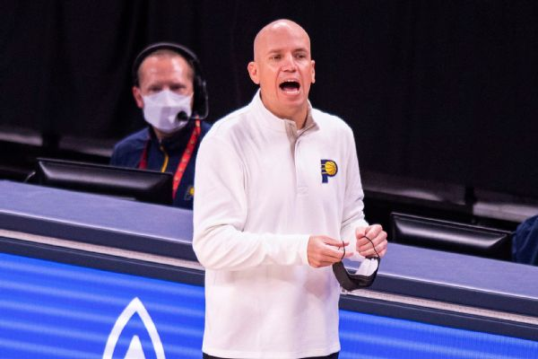 Bjorkgren fired as Pacers coach after one season