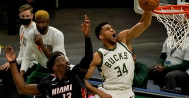 Follow live: Giannis, Bucks look to put Heat on brink of elimination